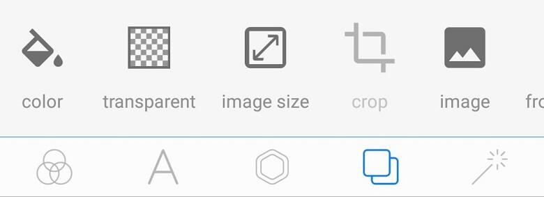 画像を透過&サイズ変更